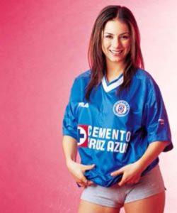 Claudia Lizaldi cruz azul