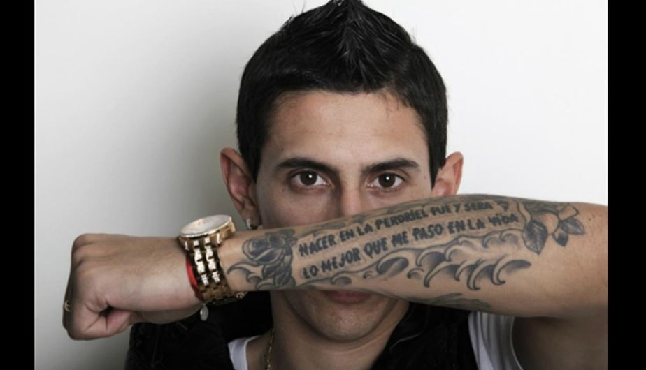 Ángel Di María tatuajes