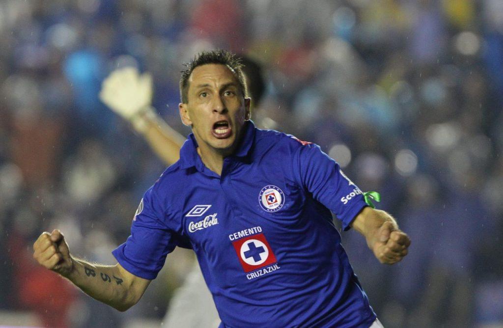 Tatuajes de Christian Gimenez Jugador de Cruz de Azul de Mexico