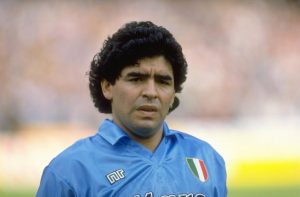 Diego Maradona Napoles