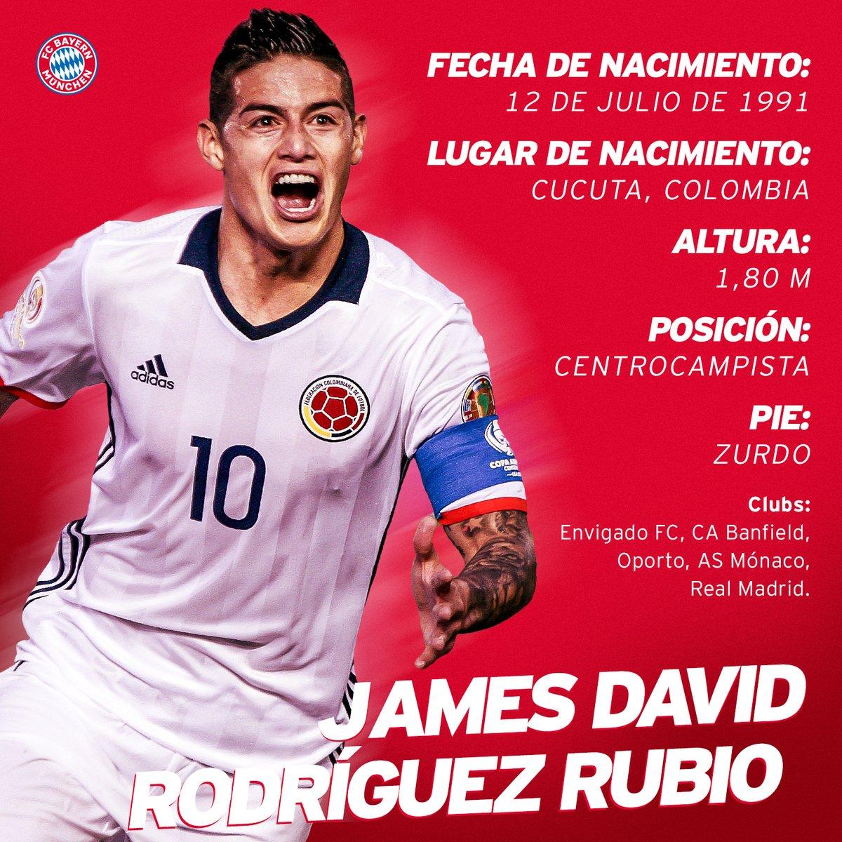 James Rodríguez al bayern - Futbol Hoy - Noticias de futbol mexicano e  internacional 0c3bfb111ac80