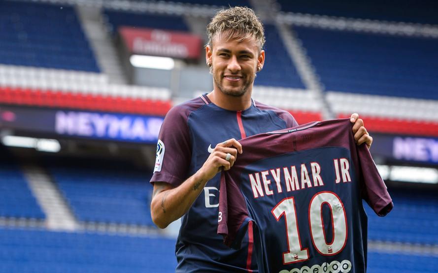 Neymar Llega Al PSG